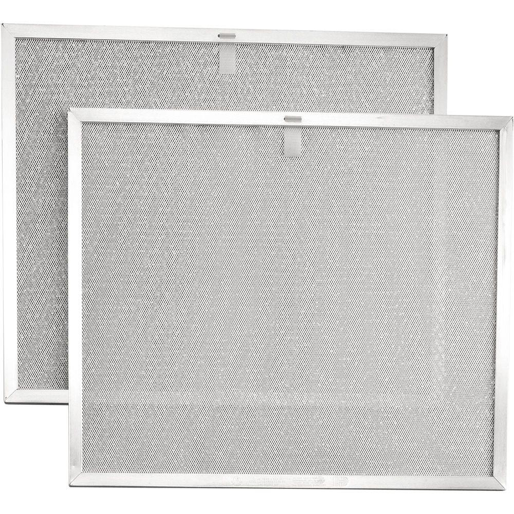 Broan Allure 2 Series 30 in. Range Hood Externally Vented Aluminum Replacement Filter (2 each)