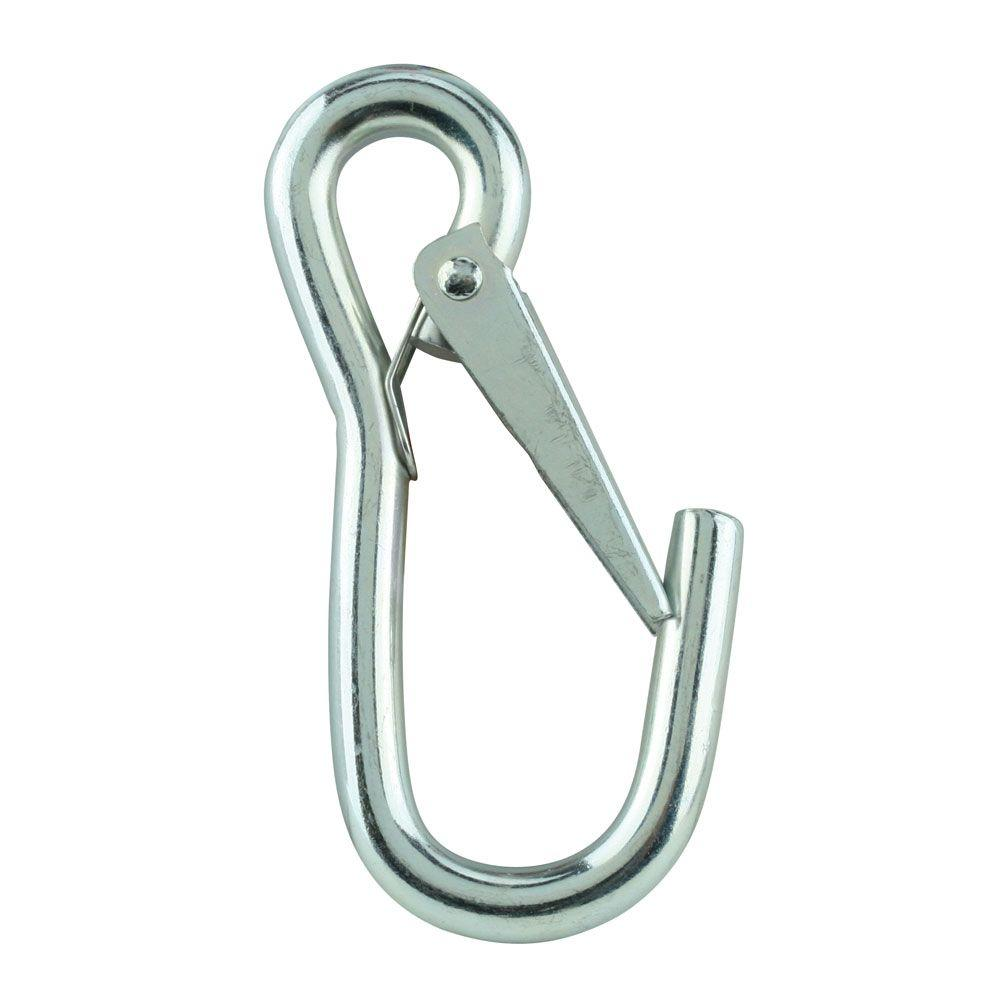3/8 in. Zinc-Plated Spring Snap Hook