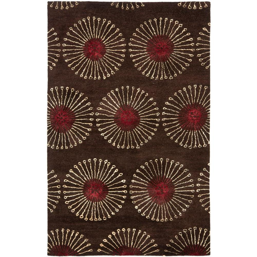 Soho Coffee/Brown (Brown/Brown) 5 ft. x 8 ft. Area Rug