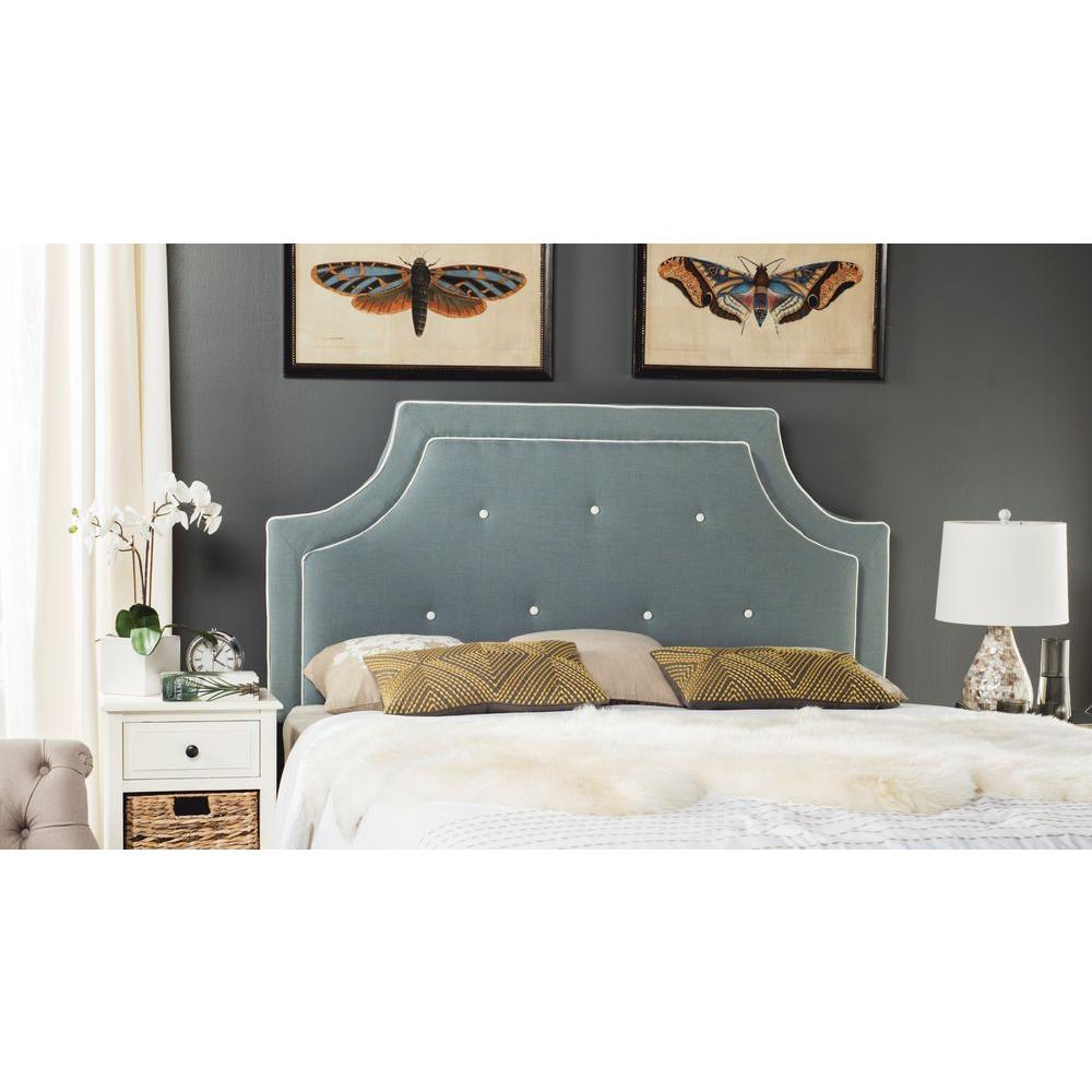 Butterfly Bedroom Accessories Rectangular Bedroom Design Taupe Black And White Bedroom Bedroom Colors And Decor: Safavieh Lamar Full Headboard In Taupe-MCR4625A
