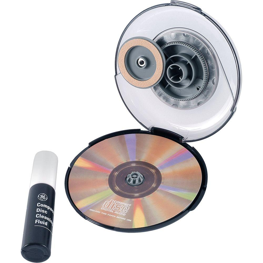 Radial CD/DVD Cleaning System