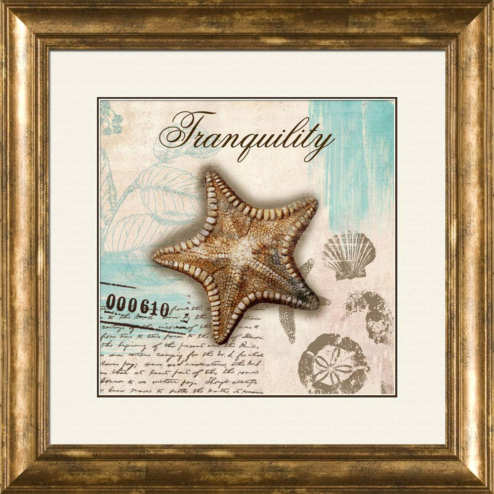 "null 15 in. x 17 in. ""Serenity A"" Framed Wall Art"