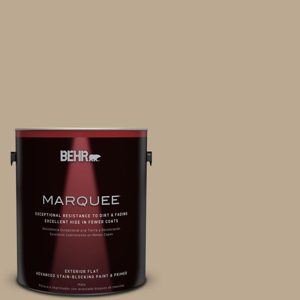 1-gal. #N300-4 Open Canyon Flat Exterior Paint