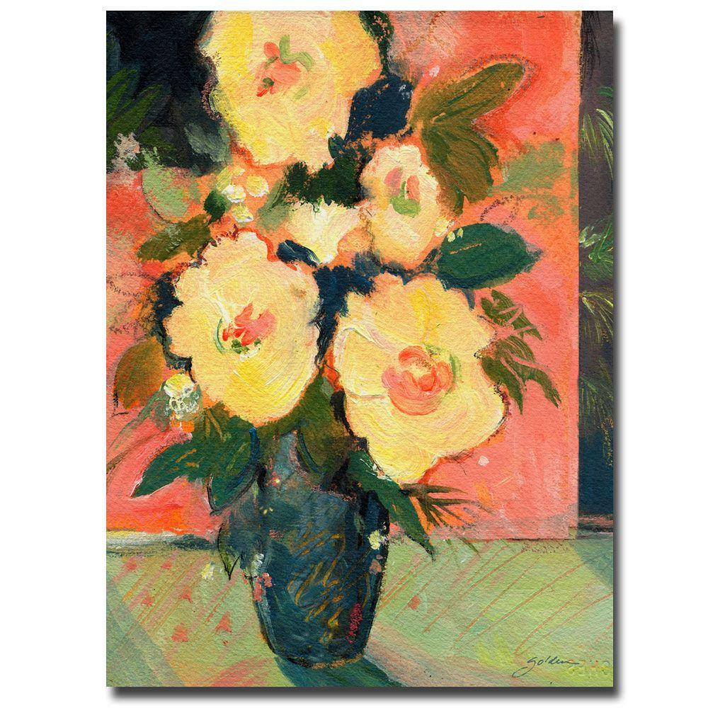 18 in. x 24 in. Tropical Blooms Canvas Art