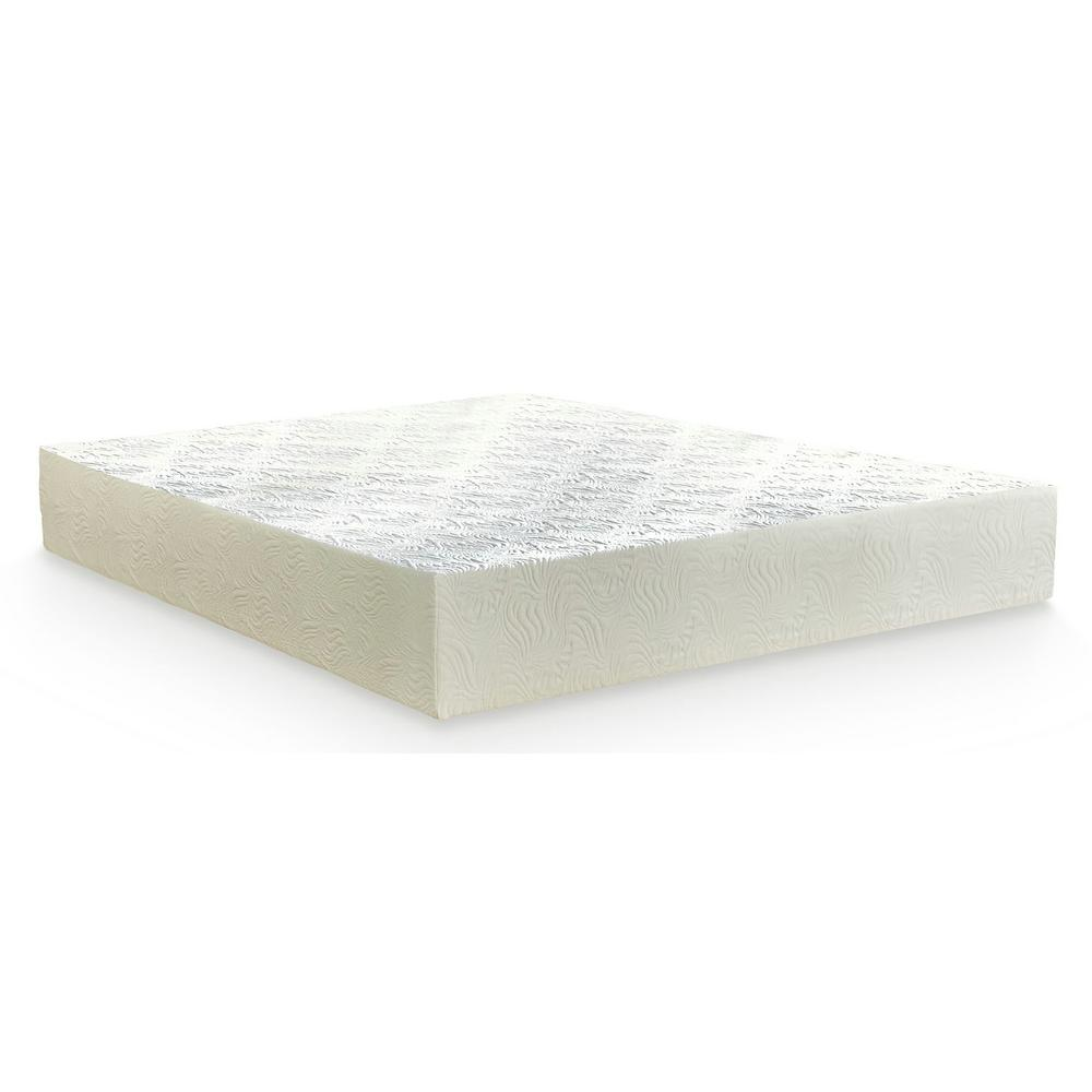 Plushbeds Eco Bliss Queen 10 In Medium Firm Hybrid Latex Mattress Ecoblmf1005 The Home Depot