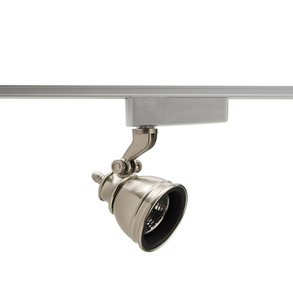 Juno Trac-Lites Low-Voltage Satin Chrome Bell Light-R710SC - The Home Depot