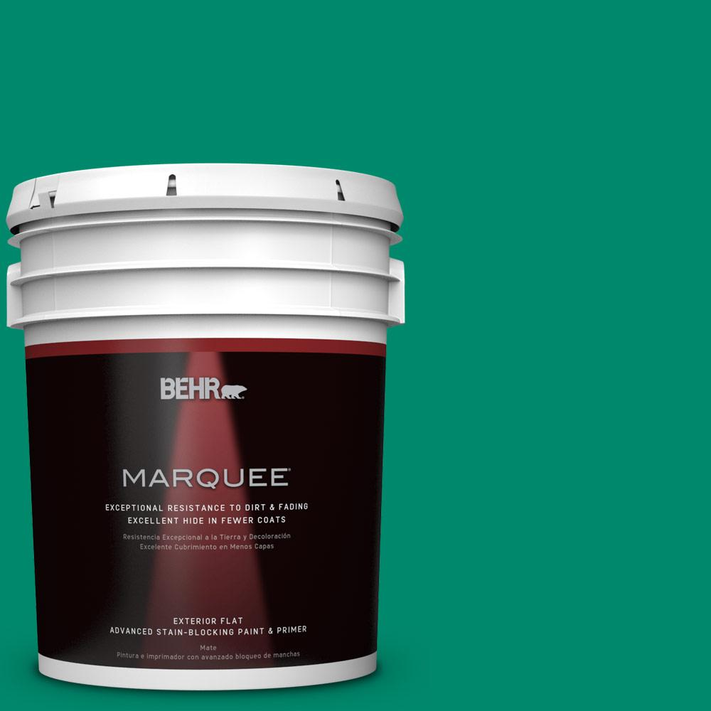 BEHR MARQUEE 5-gal. #P430-6 Fairy Queen Flat Exterior Paint