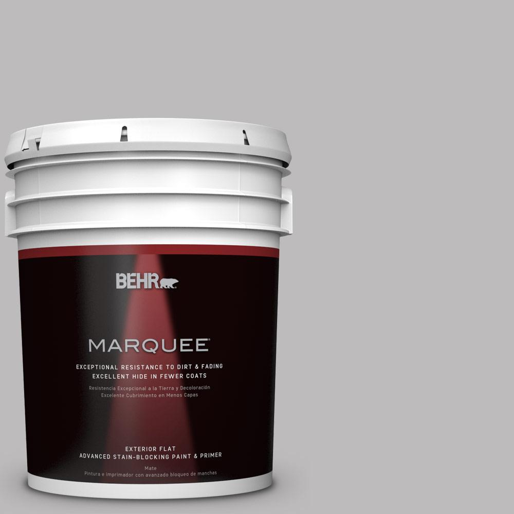 BEHR MARQUEE 5-gal. #PPU16-11 Grape Creme Flat Exterior Paint-445405 - The