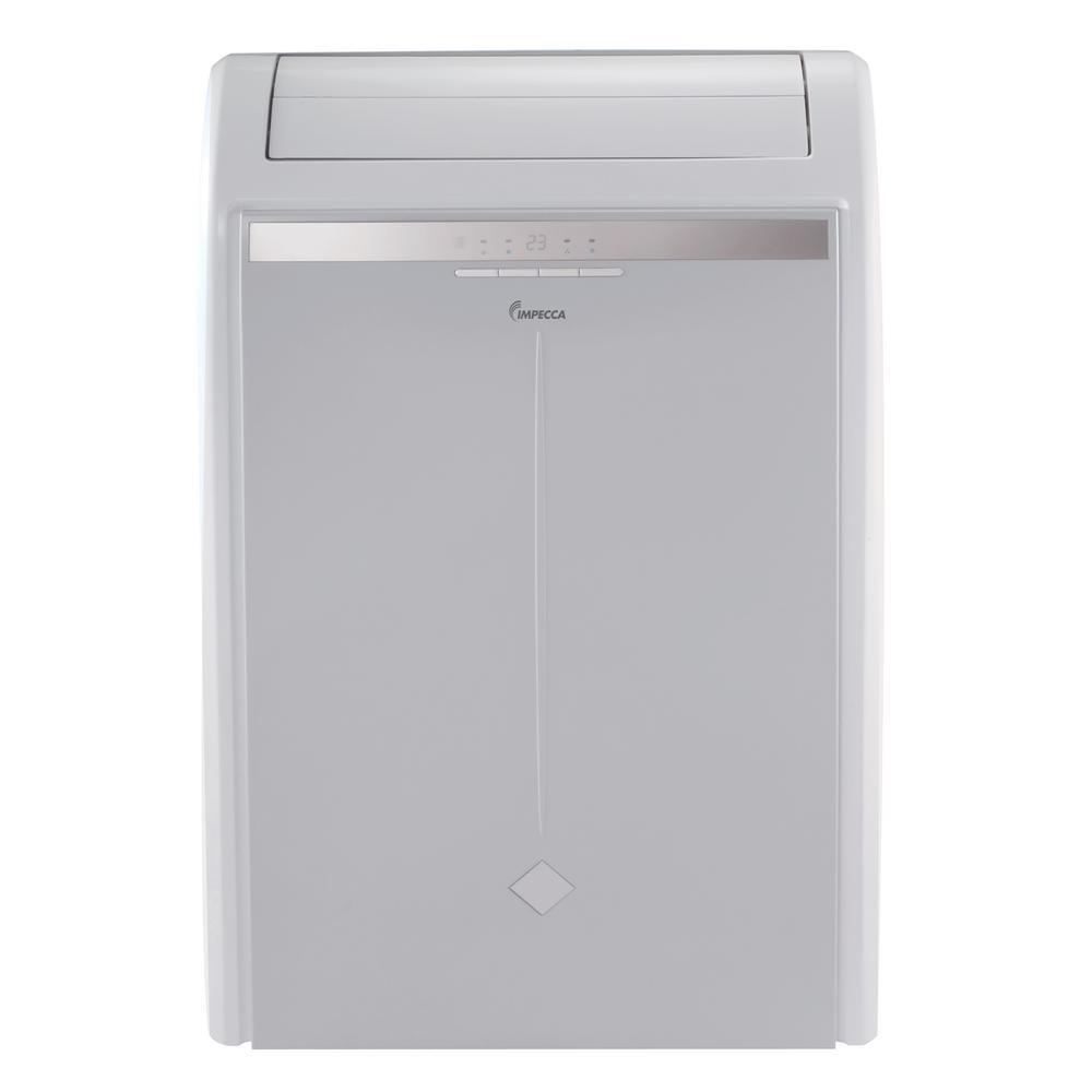 16,000 BTU Portable Air Conditioner with Remote in Gray
