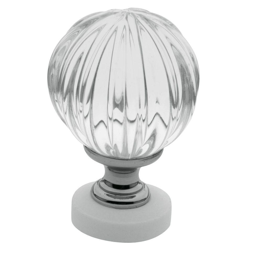 Baldwin 1-7/16 in. Polished Chrome Round Cabinet Knob