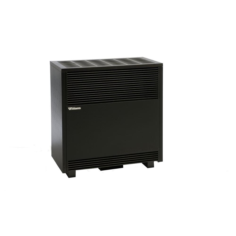 Williams 50,000 BTU/hr Enclosed Front Console Propane Gas Room Heater-5001521A -