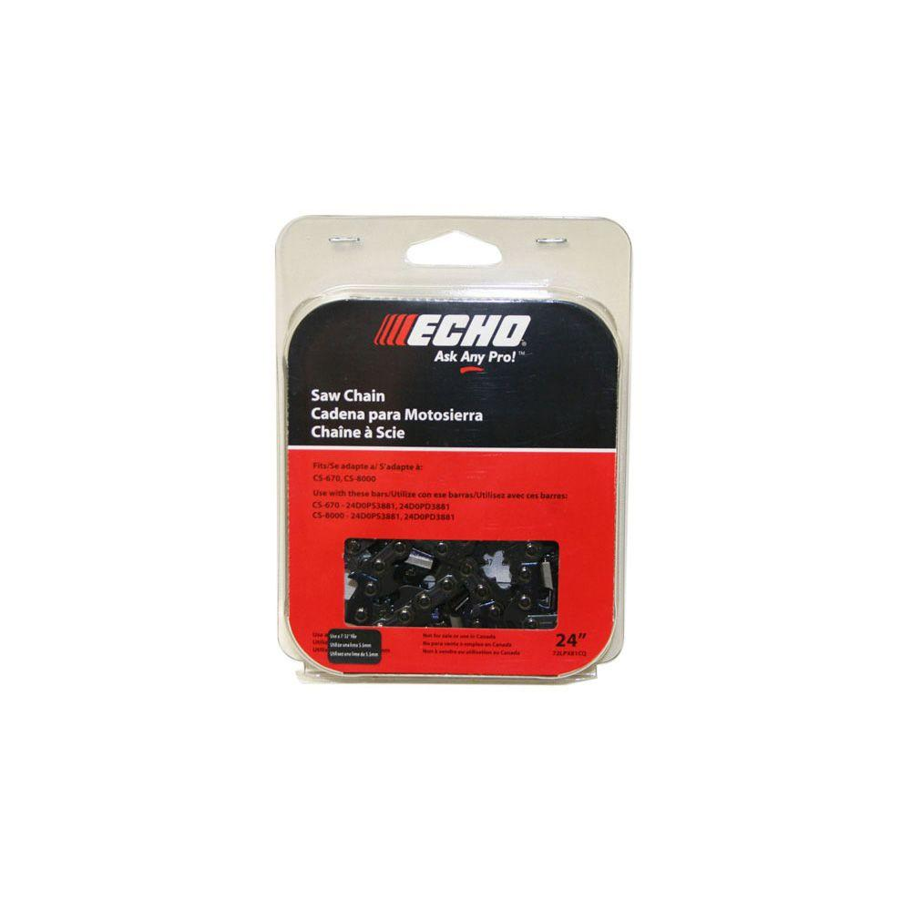 ECHO Super 70 24 in. Chainsaw Chain