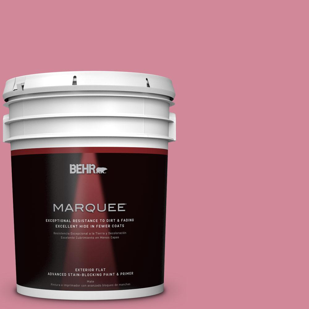 BEHR MARQUEE 5-gal. #M140-4 Fruit Cocktail Flat Exterior Paint
