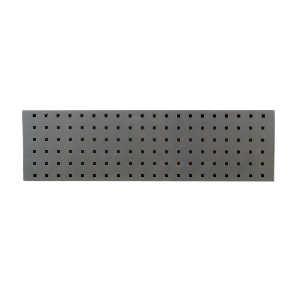 LocBoard 3/8 in. Silver Pegboard Wall Organizer-LBS-2S - The Home Depot