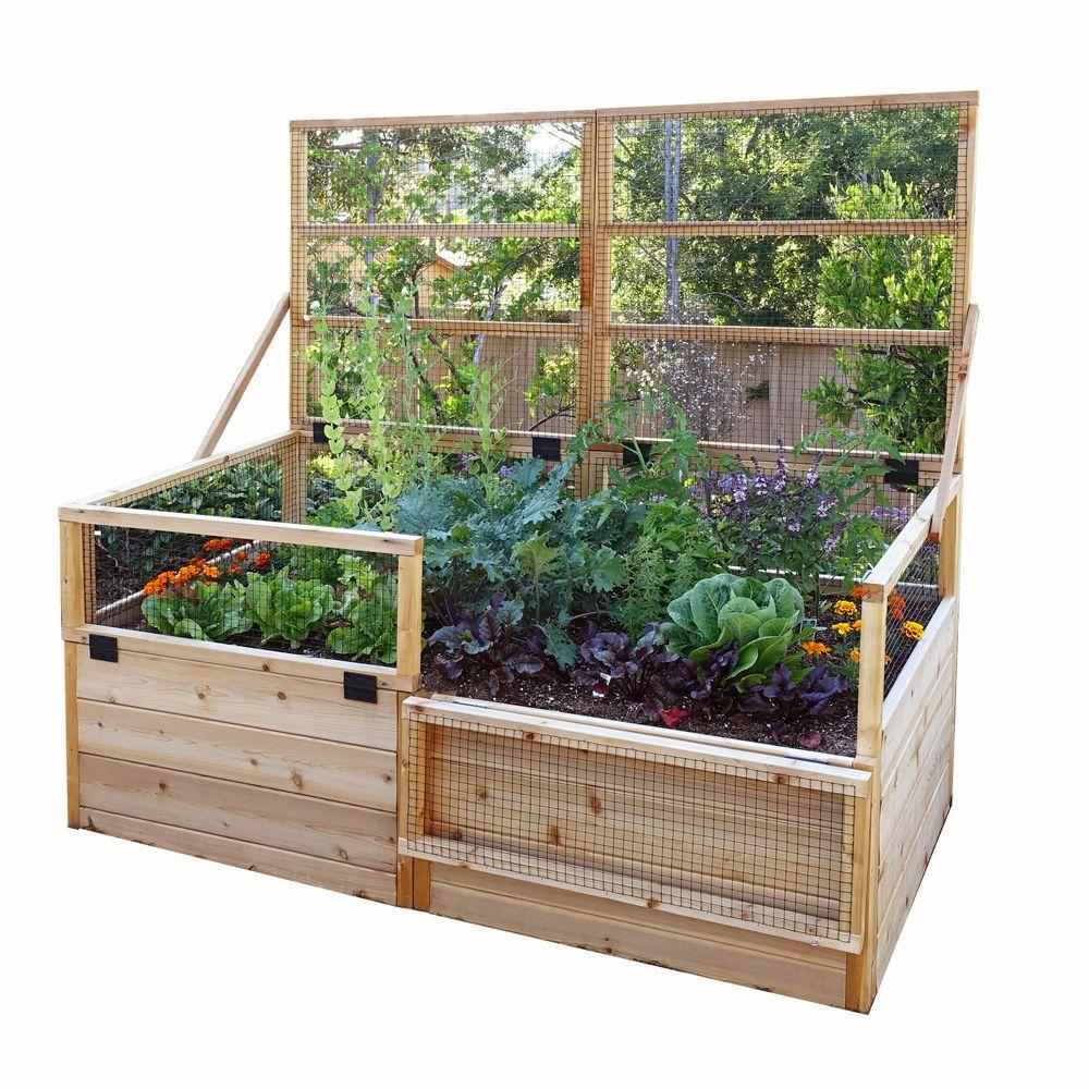 Outdoor Living Today 6 Ft X 3 Ft Raised Garden Bed With