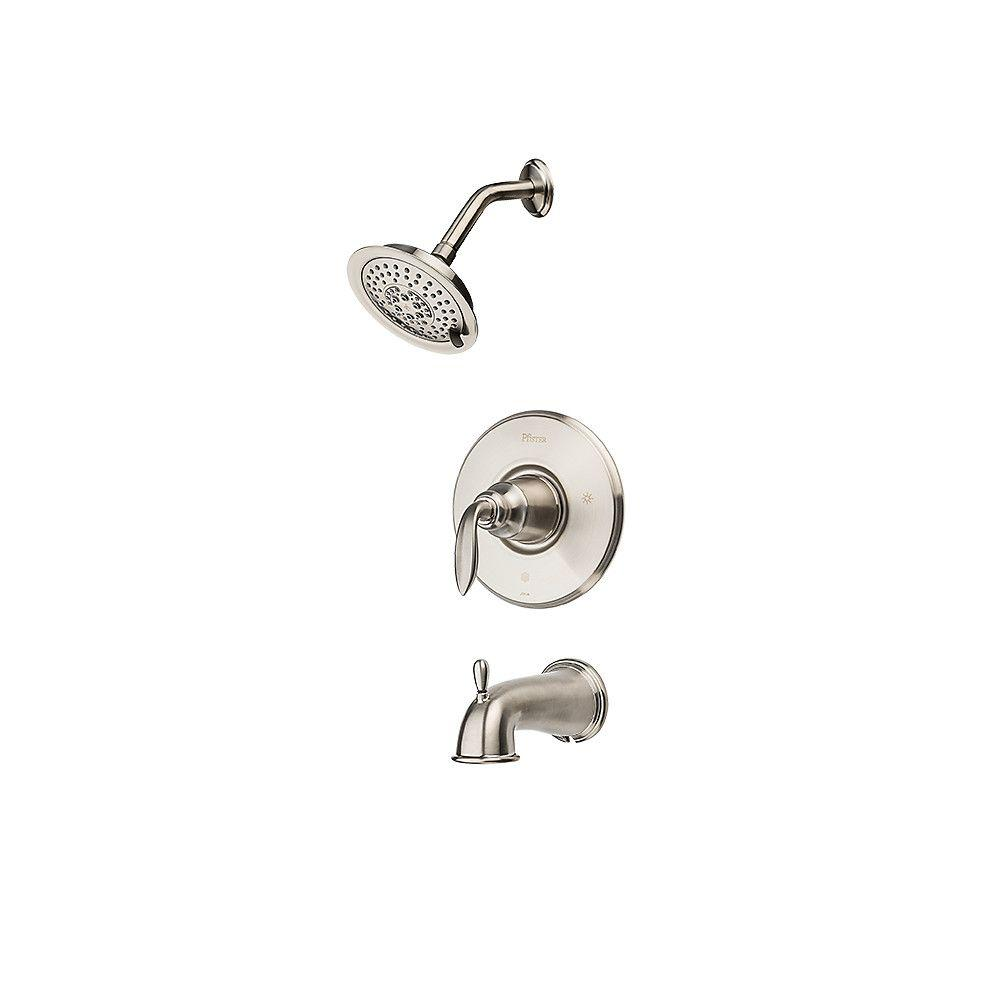 Pfister Avalon Single-Handle Tub and Shower Trim Kit in Brushed Nickel