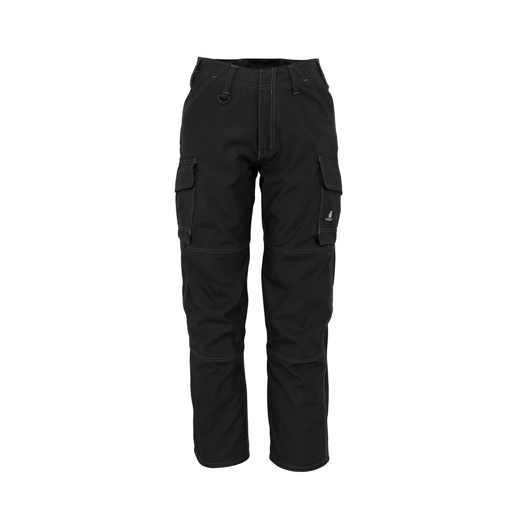 MASCOT Men's 36 in. x 35 in. Black 65% Polyester/35% Cotton New Haven Service Pant