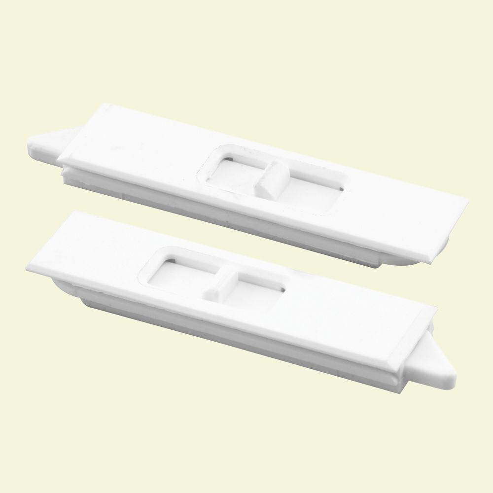 Prime line white window mortise tilt latch f 2734 the for Window replacement parts