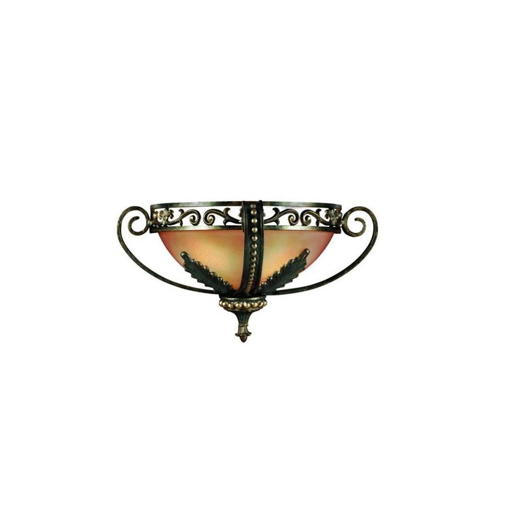 Eurofase Gallante Collection 2-Light French Gold Wall Sconce-DISCONTINUED