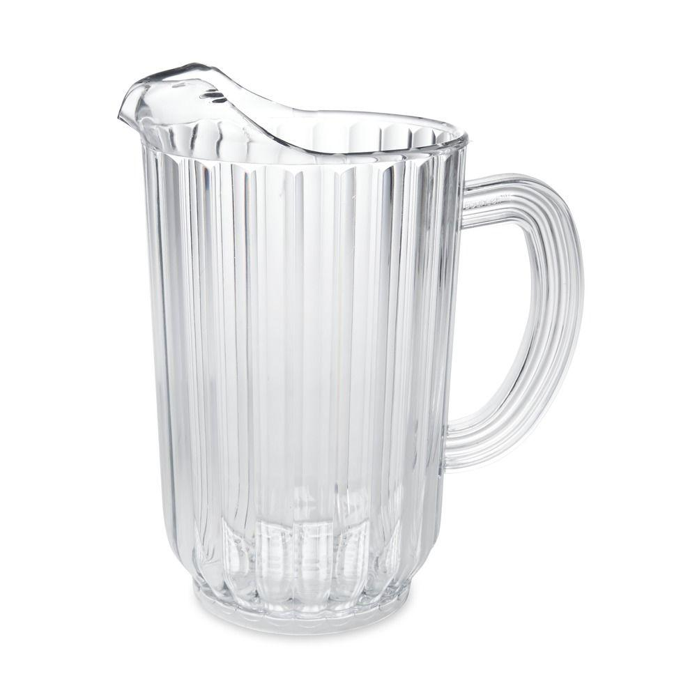 Rubbermaid Commercial Products 72 oz. Bouncer Plastic Pitcher-FG333900CLR - The