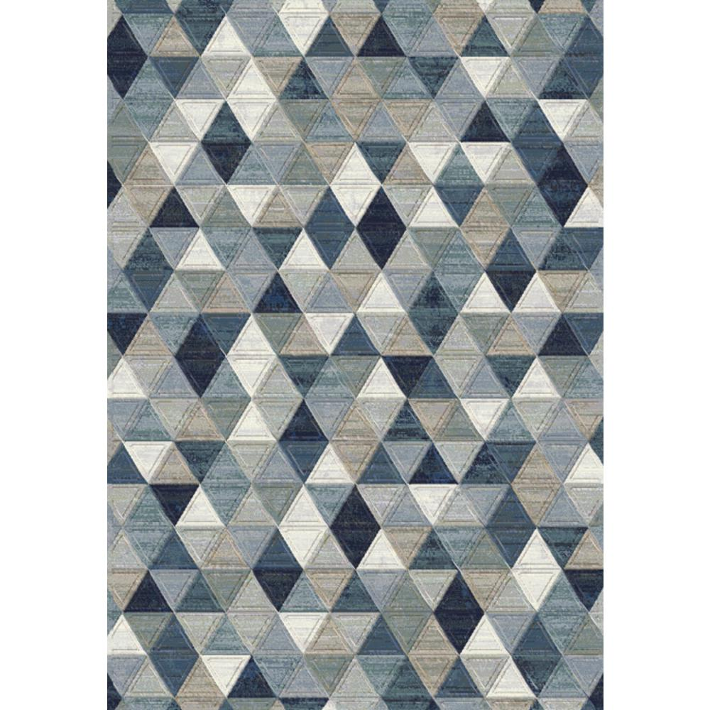 Eclipse Blue/Multi 5 ft. 3 in. x 7 ft. 7 in.