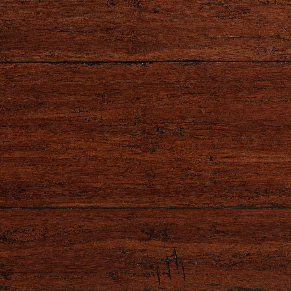 Home decorators collection strand woven warm espresso 3 8 for Engineered bamboo flooring