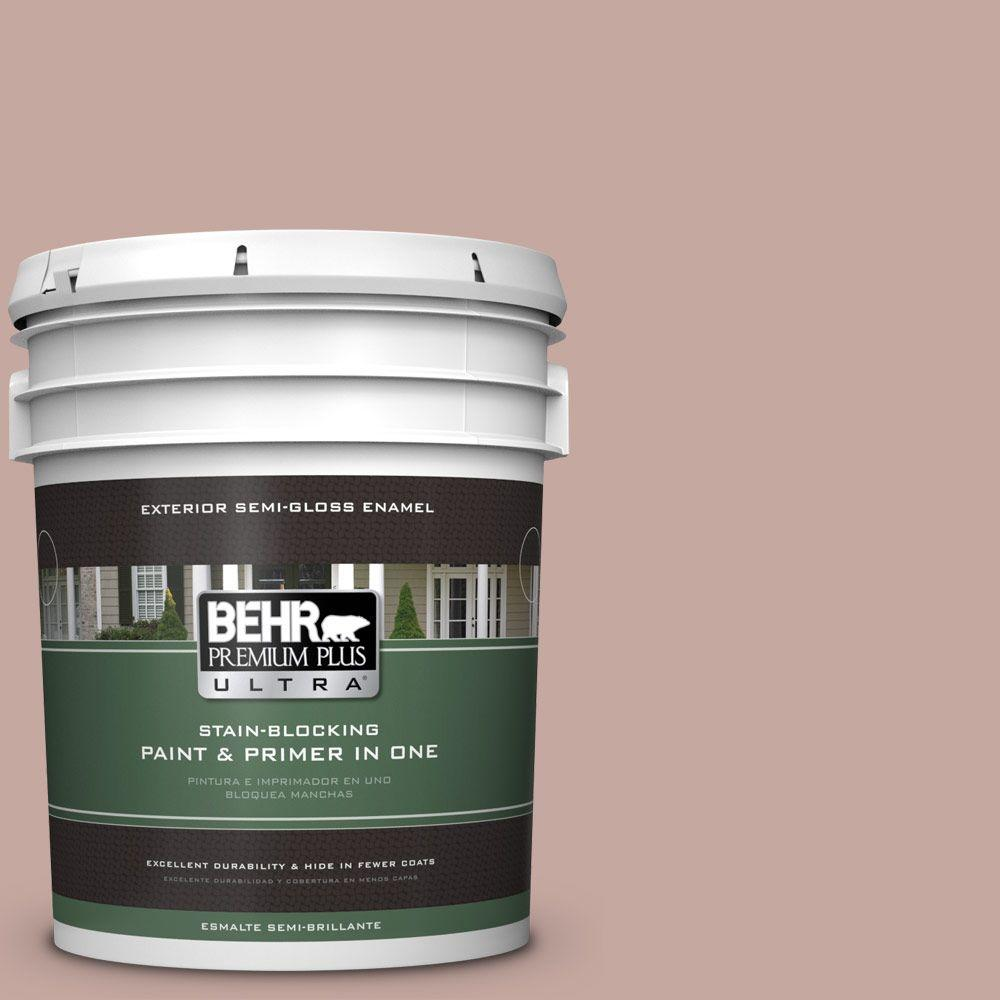 BEHR Premium Plus Ultra Home Decorators Collection 5-gal. #HDC-NT-06 Patchwork Pink Semi-Gloss Enamel Exterior Paint