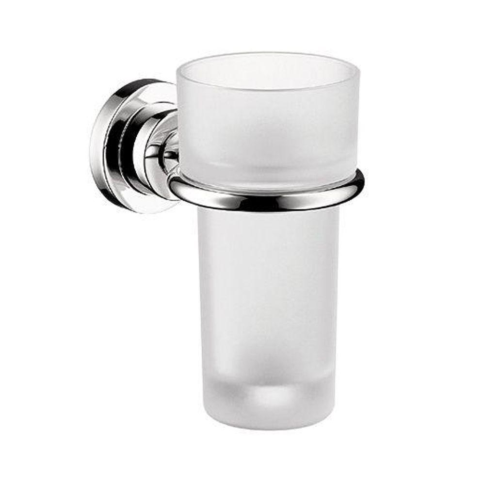 Hansgrohe Axor Citterio Wall-Mounted Tumbler and Holder in Chrome
