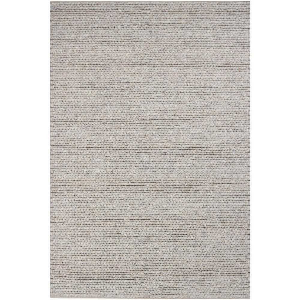 Valencia Ivory/Grey/Brown 7 ft. 9 in. x 10 ft. 6 in. Indoor Area Rug