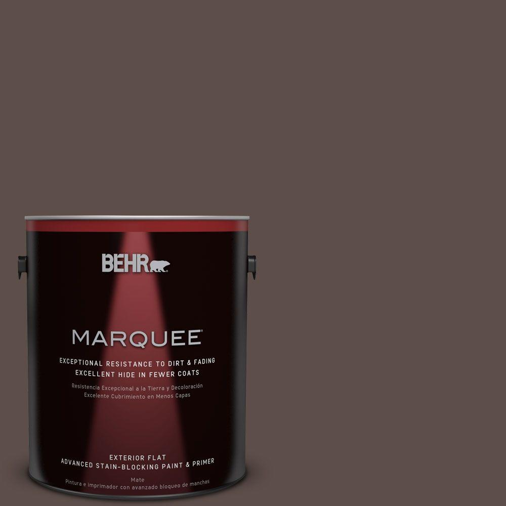 BEHR MARQUEE 1-gal. #MQ2-35 Cabin in the Woods Flat Exterior Paint