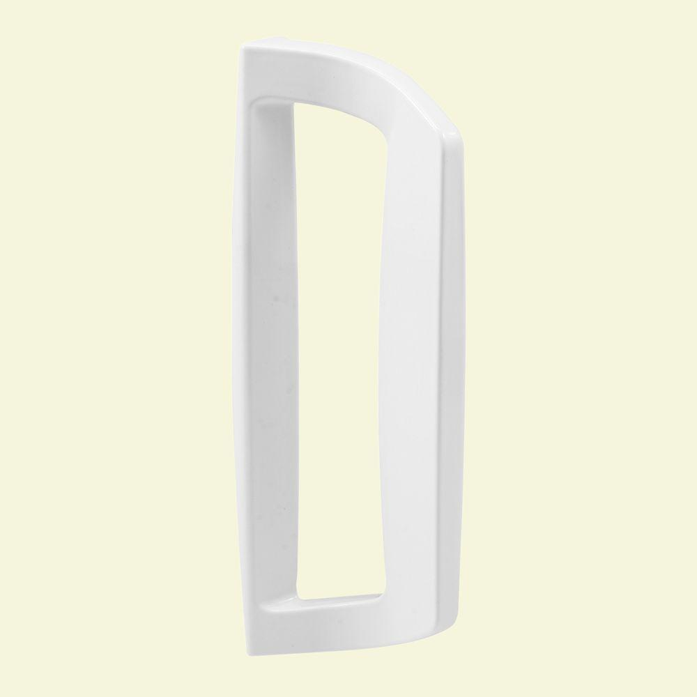 White Diecast Sliding Door Outside Pull