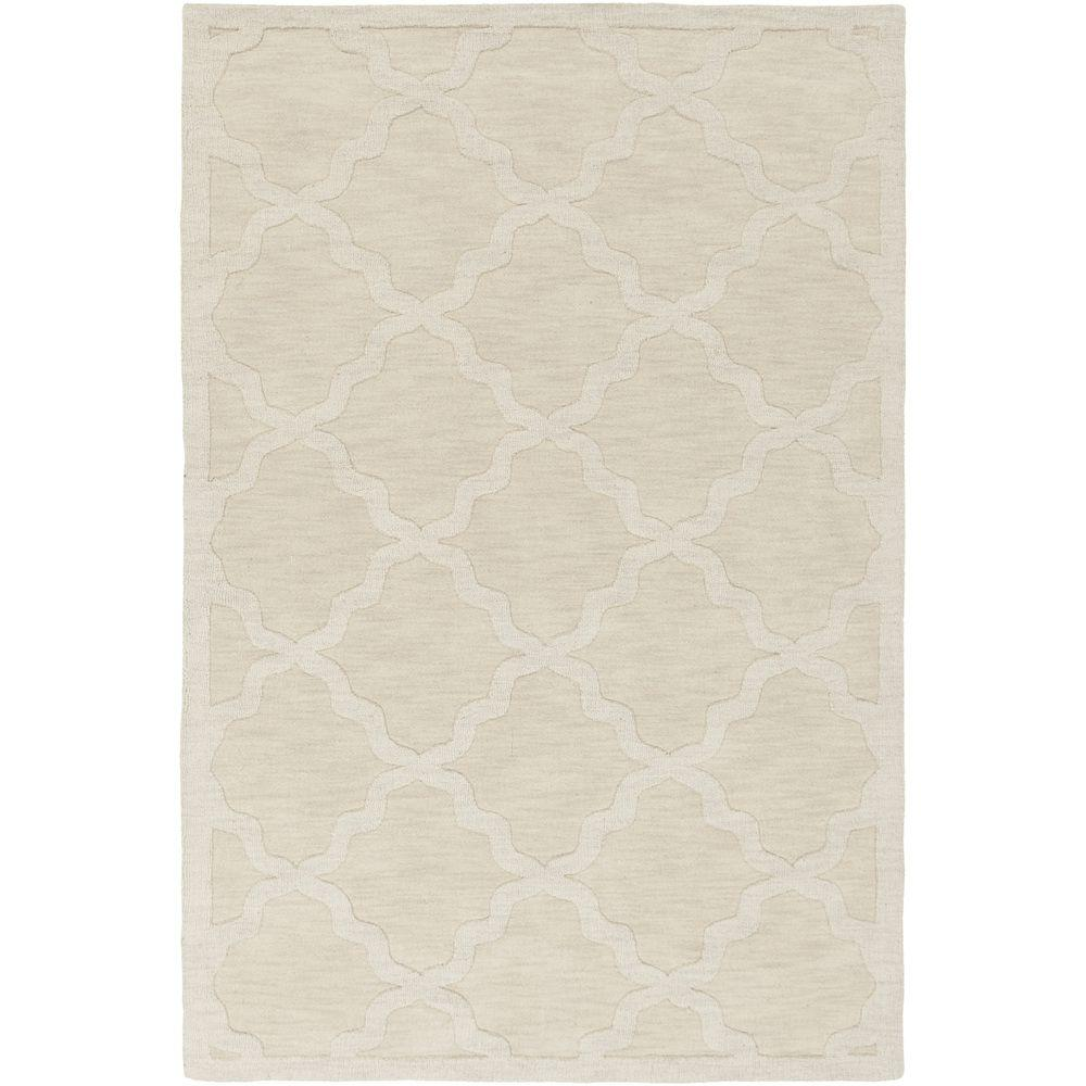 Central Park Abbey Ivory 2 ft. x 3 ft. Indoor Accent