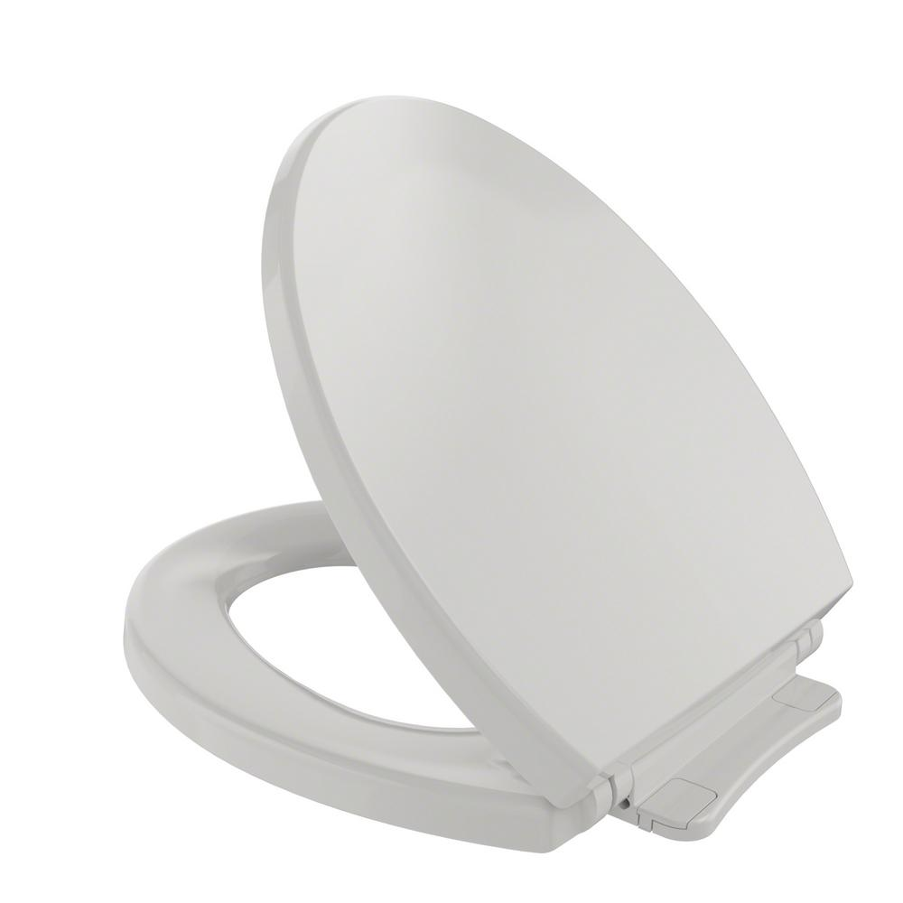 grey soft close toilet seat. This review is from SoftClose Round Closed Front Toilet Seat in Colonial  White TOTO Bone SS113 03