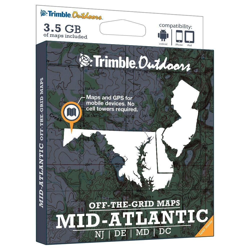 Trimble Outdoors Mid Atlantic Off-The-Grid Maps