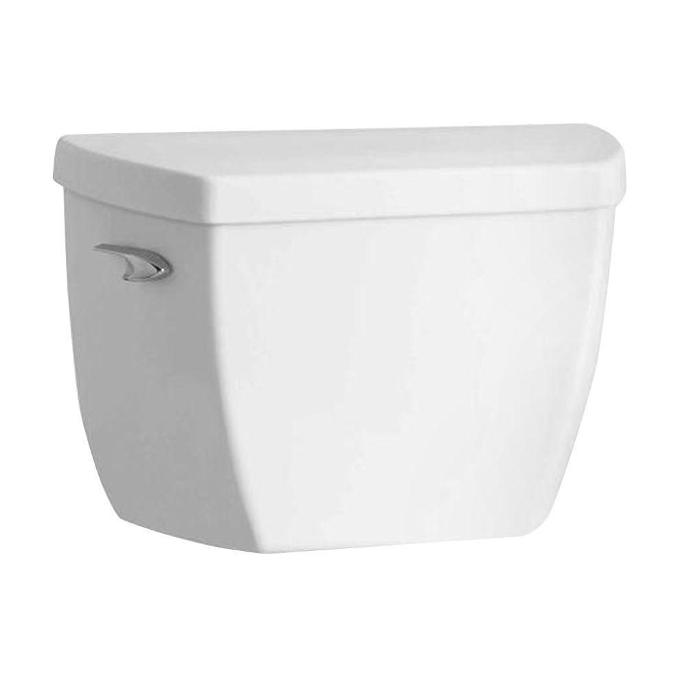 Highline 1.0 GPF Single Flush Toilet Tank Only in White