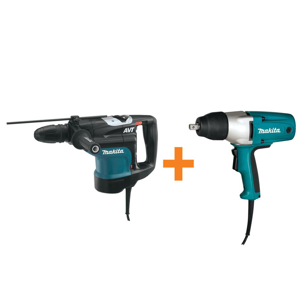 Makita 13.5 Amp 1-3/4 in. SDS-MAX AVT Rotary Hammer Drill with