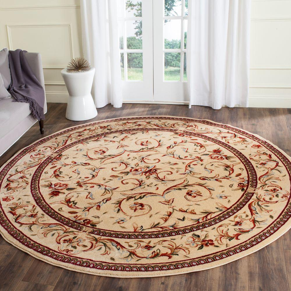 Safavieh Cambridge Silver Ivory 10 Ft X 10 Ft Round Area