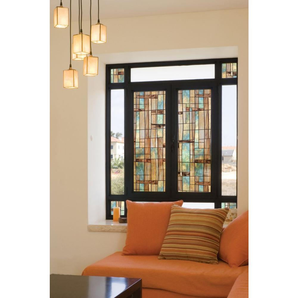 city lights decorative window film 01 0133 the home depot - Decorative Window Film