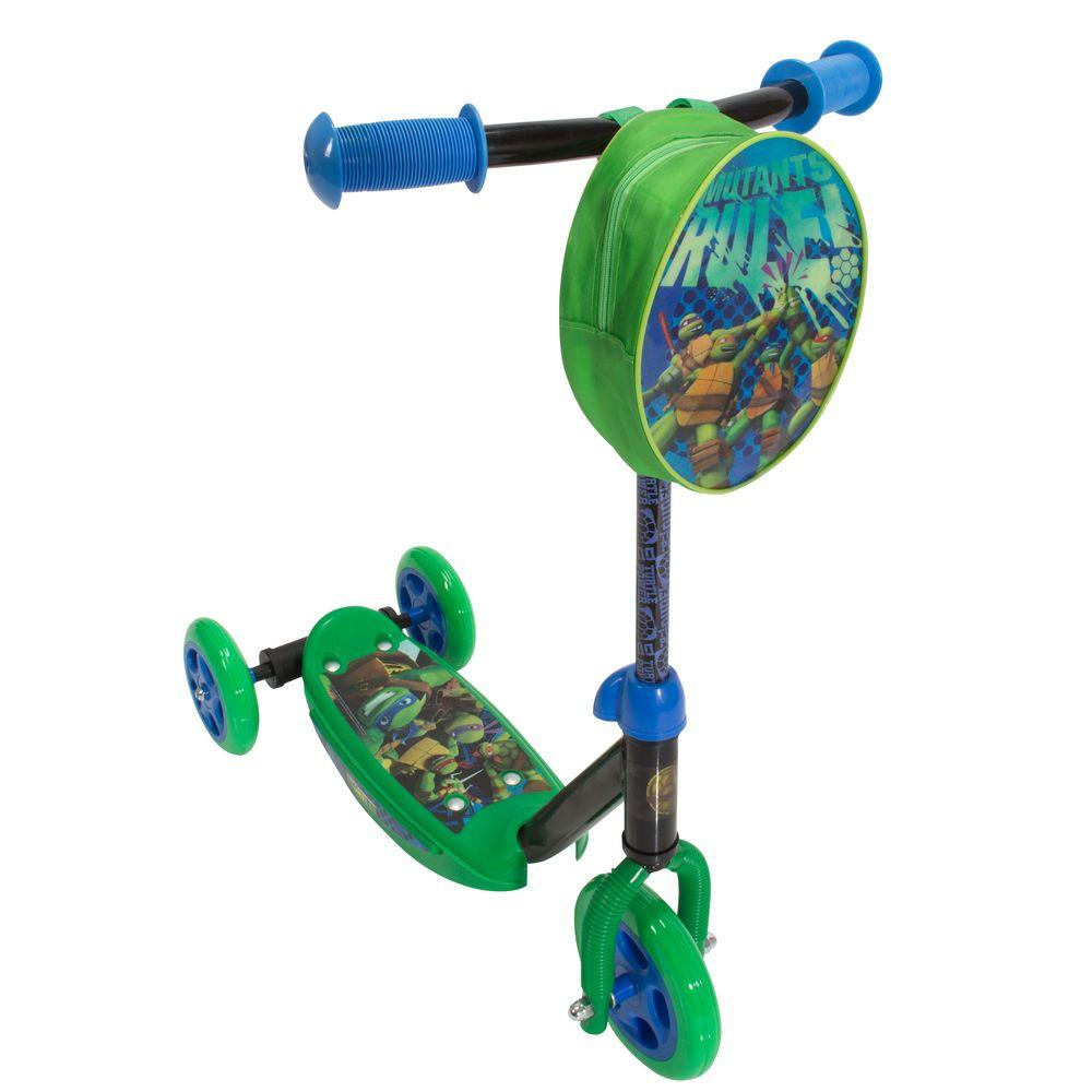 Playwheels TMNT Classic Trike Scooter-162648 - The Home Depot
