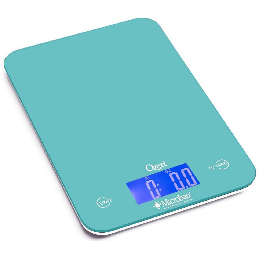 Touch II 18 lbs. Digital Kitchen Scale, with Microban Antimicrobial Product