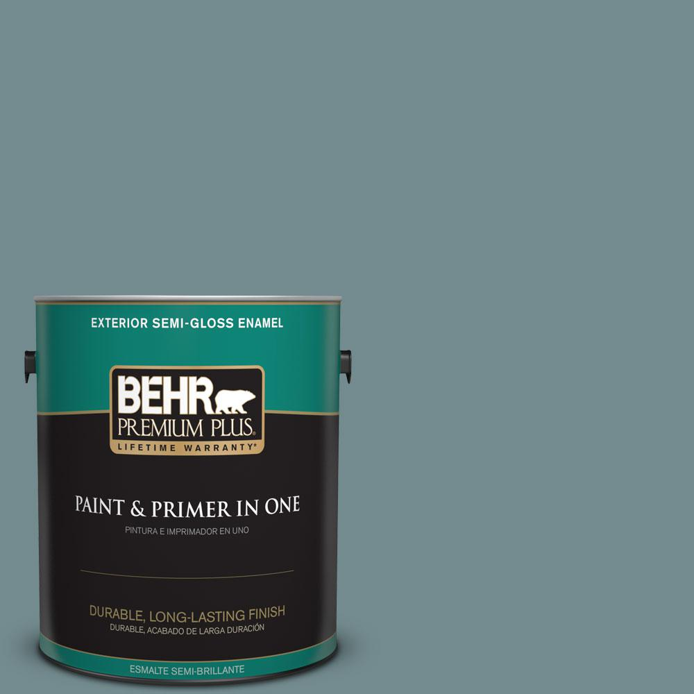 1-gal. #PPF-46 Leisure Time Semi-Gloss Enamel Exterior Paint