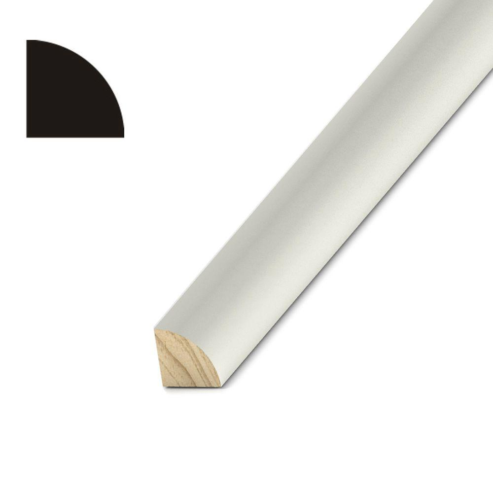 3/4 in. x 3/4 in. Treated Primed Pine Quarter Round Moulding
