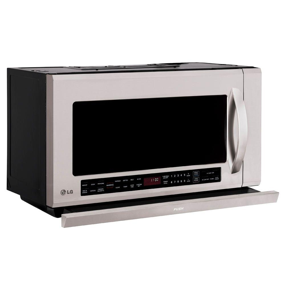LG Electronics 2.0 cu. ft. Over the Range Microwave in Stainless Steel