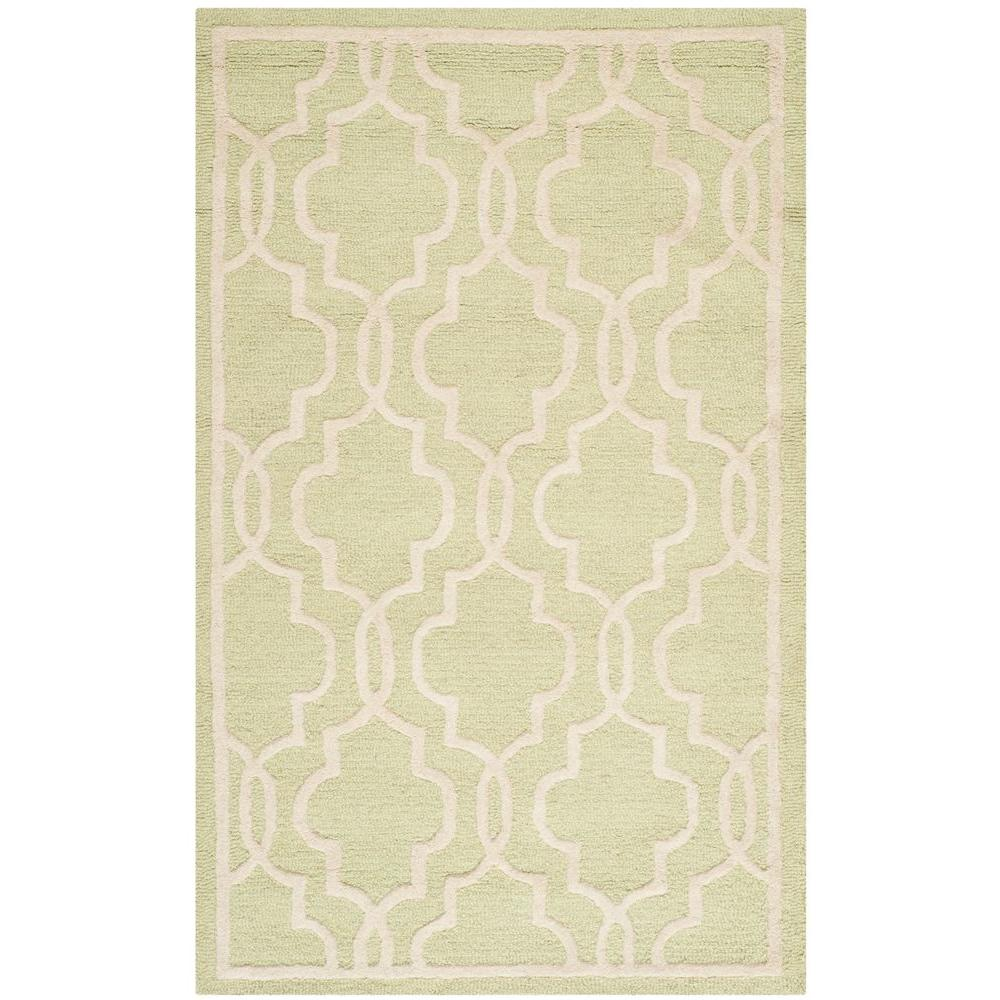 Cambridge Light Green/Ivory 2 ft. x 3 ft. Area Rug