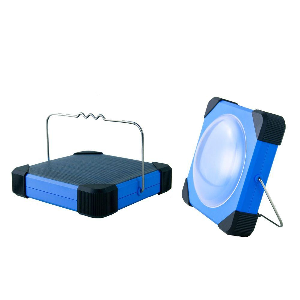 eLEDing 180 Degree Solar Portable LED Lantern with USB Mobile Charger