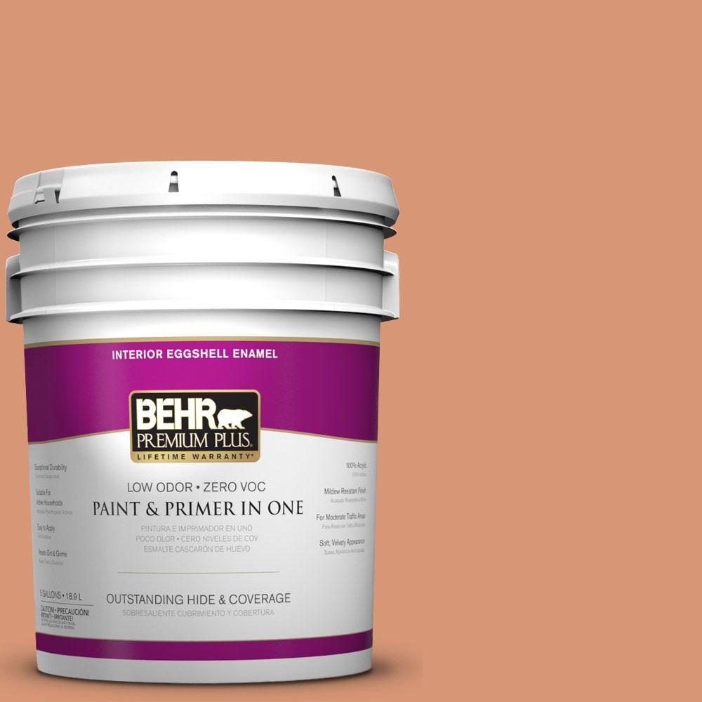 5-gal. #M210-5 Candied Yams Eggshell Enamel Interior Paint