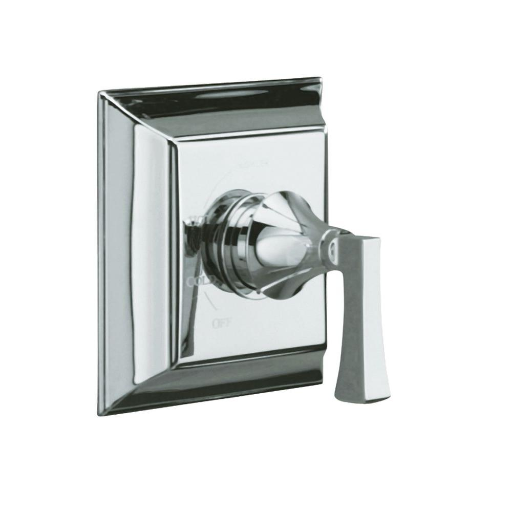 KOHLER Memoirs 1-Handle Rite-Temp Pressure-Balancing Valve Trim Kit in Polished Chrome (Valve Not Included)