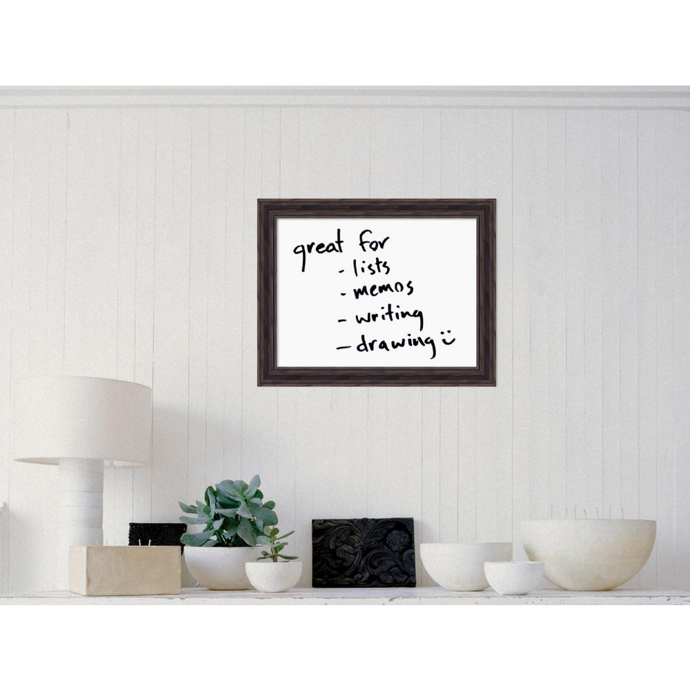 Rustic Pine Wood 18.38 in. H x 23.38 in. W Framed