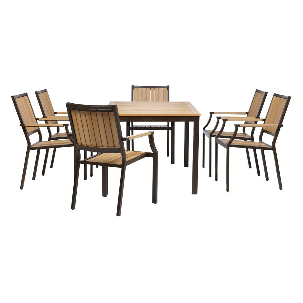 Home Decorators Collection Santa Rosa 7-Piece Patio Dining Set -DISCONTINUED