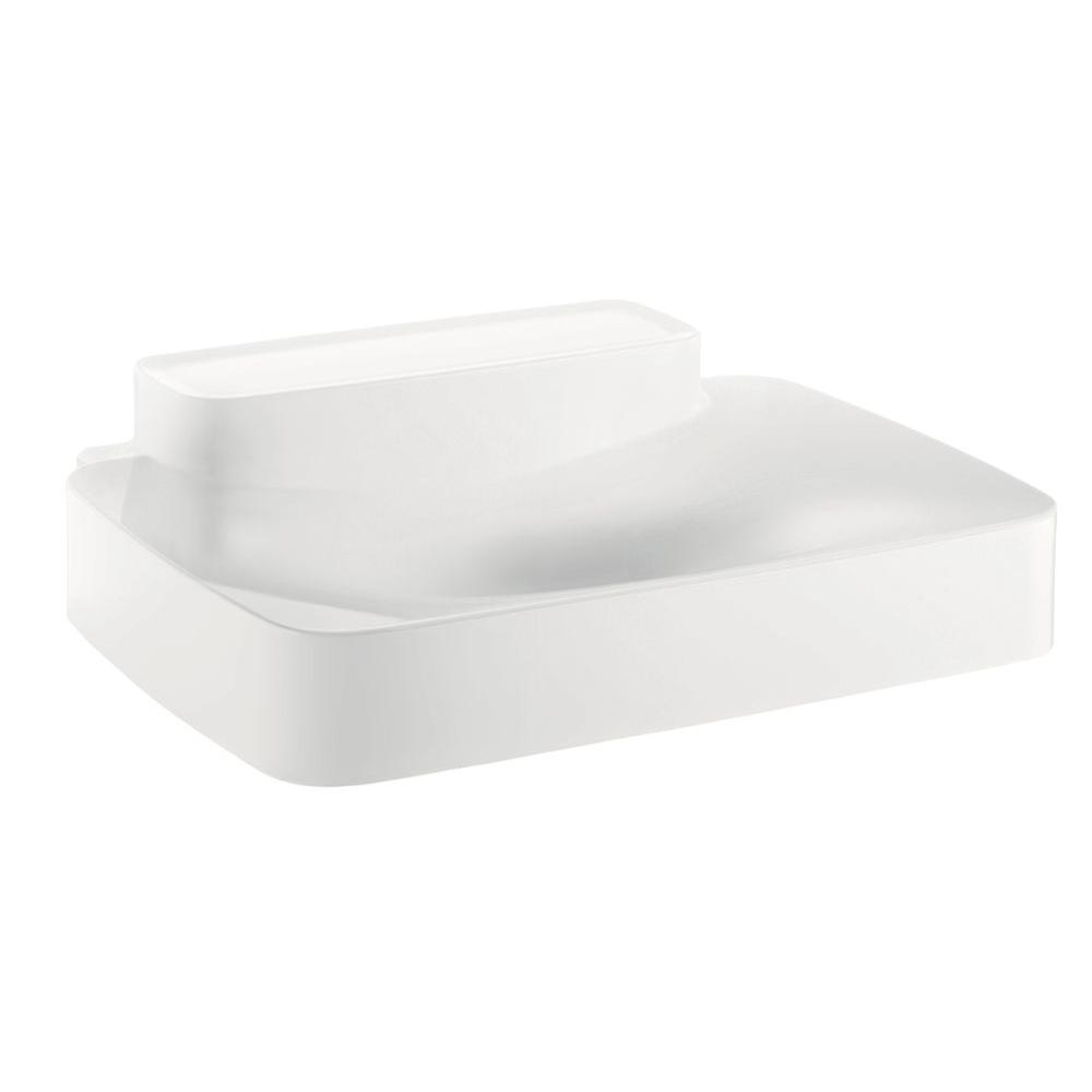 Hansgrohe Axor Bouroullec Wall-Mounted Bathroom Sink in White